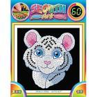 Sequin Art 1326 - Sequin Art 60 - White Tiger