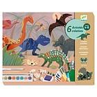 Mondo dinosauri. Da costruire e colorare (DJ09331)