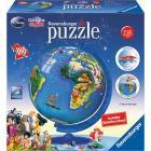 Mappamondo Disney 3D Globo 180 pezzi