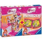 Memory + 3 puzzle Winx (07342)