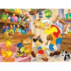 Pinocchio e Geppetto