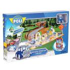 Robocar Poli Brooms Town Map City Hall  (83279)