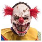 Maschera clown horror crepato