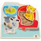 """Puzzle con pomello """"I miei animali domestici"""" (E1300)"""