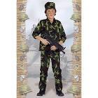 Costume Soldato Action 8-10 anni