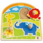 """Puzzle con pomello """"Allo zoo"""" (E1302)"""