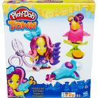 Playdoh Town Parrucchiera + Animale (EDU0233)