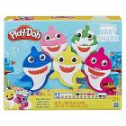 Baby Shark Play-Doh Playset con 12 Vasetti