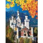 Neuschwanstein in autunno