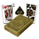 Carte Poker Bicycle Steampunk Gold