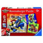 Puzzle Power Rangers 3 X 49 (09393)