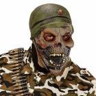 Maschera soldato Zombie (00397)