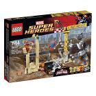 L'alleanza criminale di Rhino e l'Uomo Sabbia - Lego Super Heroes (76037)