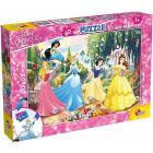 Puzzle double face Plus 60 Princess (74044)
