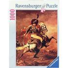 Puzzle 1000 Pezzi Ufficiale dei cacciatori a cavallo - Gericault (15407)