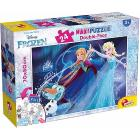 Puzzle double face Supermaxi 24 Frozen (74075)