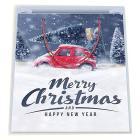 Confezione regalo Natale. Shopper + biglietto + carta