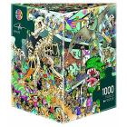 Puzzle 1000 Pezzi Triangolare - Dinosauri