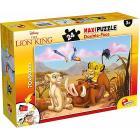 Puzzle double face Supermaxi 24 Lion King (74105)