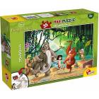Puzzle double face Supermaxi 35 Jungle Book (74143)