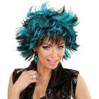 Parrucca Steamy Blu Nero