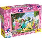 Puzzle double face Supermaxi 108 Princess (74181)