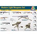 Set armi leggere moderne 1/35 (IT6421)