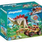 Veicolo degli Explorers e Stegosauro (9432)