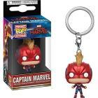 Marvel: Funko Pop! Keychain - Captain Marvel With Helmet