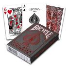 Carte Poker Bicycle Metalluxe Red