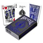 Carte Poker Bicycle Metalluxe Blue