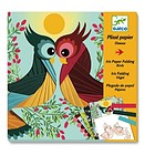 Bird - Origami carta pieghettata (DJ09443)