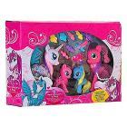 4 Pony con accessori (37444)