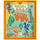 Artistic Patch Trasferelli Vellutto - Animali selvaggi (DJ09471)