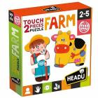 2 pieces Puzzle Touch Farm (MU24889)