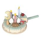 Torta compleanno in legno (LD4474)