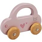 Macchinina in legno rosa (LLWT-25002)