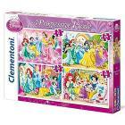 Puzzle 12+20+24+35 Pezzi Princess (21503)