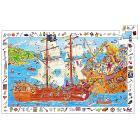 Puzzle d'osservazione - I Pirati - 100 pezzi (DJ07506)
