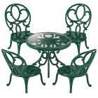 Set giardino tavolo e sedie (personaggi esclusi) (4507)