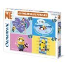 12+40+24+35 pezzi - ProgressivePuzzle (21507)