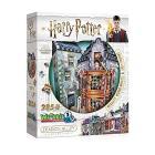 Harry Potter - 3D Puzzle 285 Pz - Diagon Alley Weasleys' Wizard Wheezes & Daily Prophet