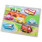 Puzzle lego auto trasporti (10520)