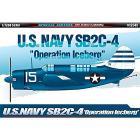 """Aereo U.S.N. SB2C-4 """"OPERATION ICEBERG"""" 1/72 (AC12545)"""