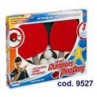 Racchette Ping Pong 2 con rete (9527)