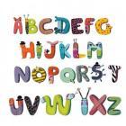 L'alfabeto degli animali - adesivi