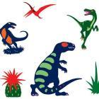 Dinosauri - adesivi