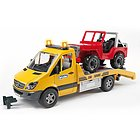 Mercedes Benz Sprinter con jeep (02535)