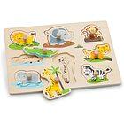 Puzzle safari legno (10538)