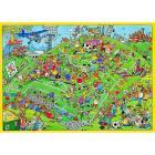Puzzle Comic 500 pezzi - Calcio